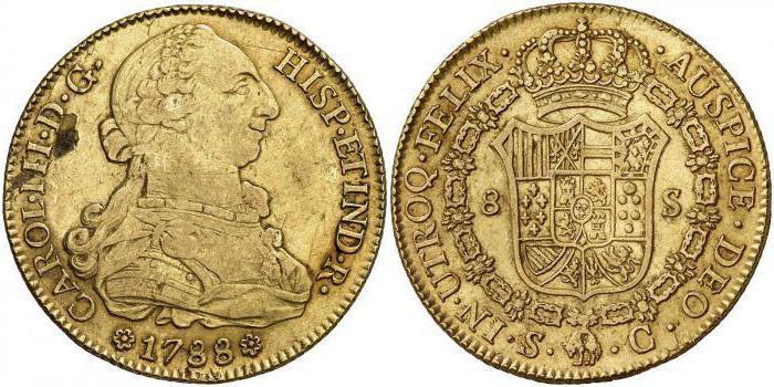 Старинная золотая монета - нумизматическая ценность