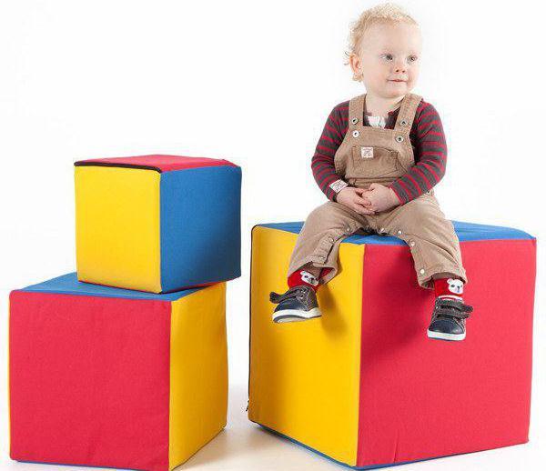 развивающие кубики для детей своими руками