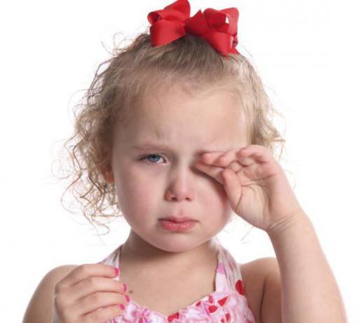 у ребенка лопнул сосуд в глазу причина