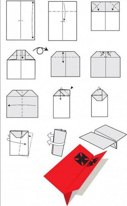 как сделать бумажный саолетик который долго летает