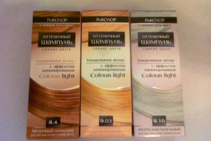 краска шампунь для волос без аммиака
