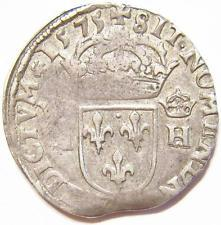 Старинные французские монеты