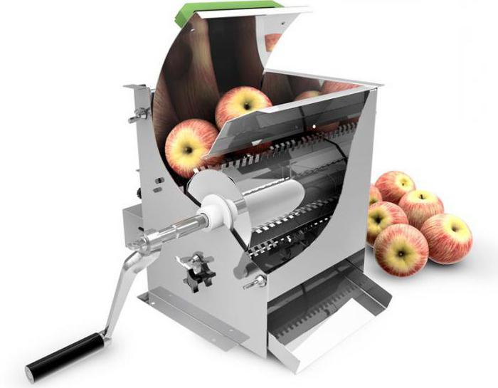 дробилки для яблок своими руками