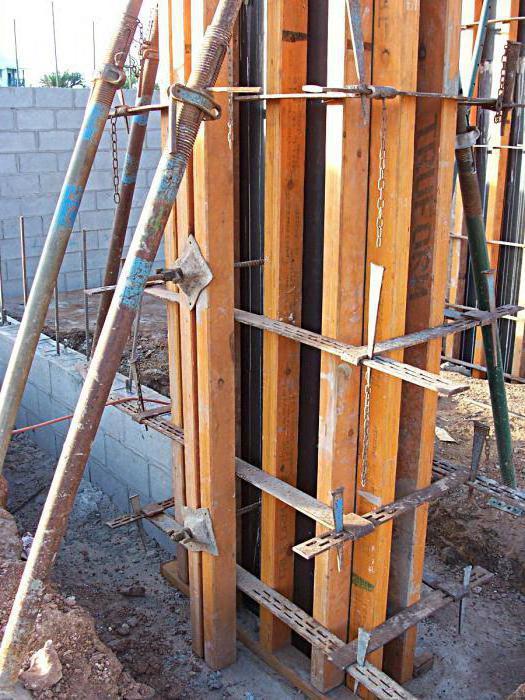 опалубка вертикальная установка и настройка