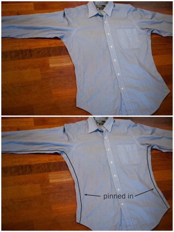 ушить рубашку по бокам стоимость