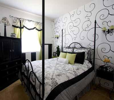 черно белые фотообои на стену: