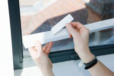 Крепление жалюзи на пластиковые окна