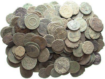 как очистить медные монеты
