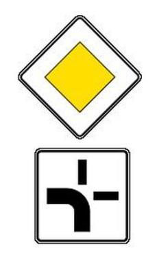 каким знаком обозначается главная дорога