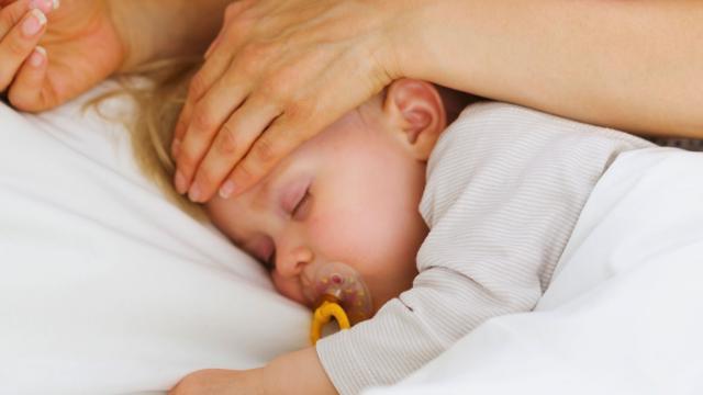 высокая температура у ребёнка конечности холодные