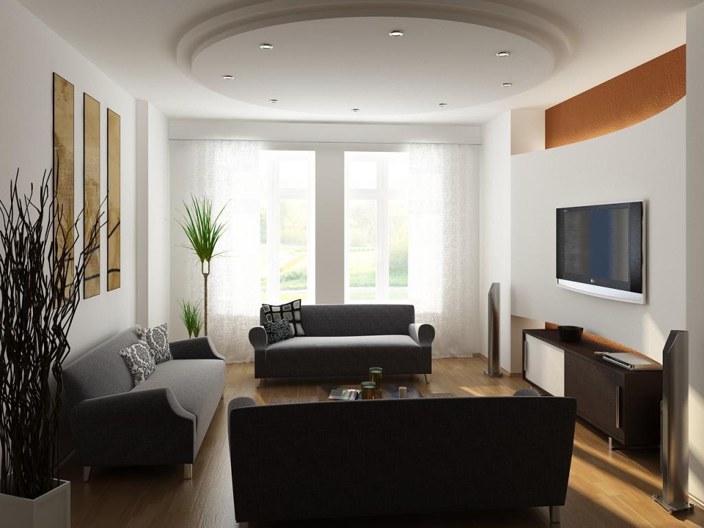 Оформление зала в квартире: идеи и полезные советы