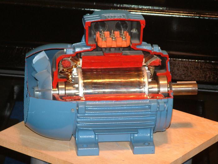 принцип работы тягового электродвигателя