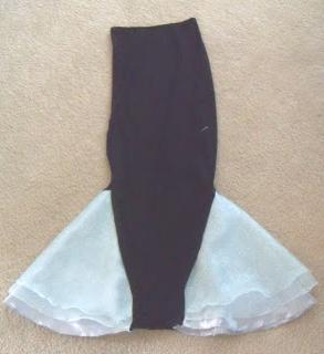 как сделать костюм русалки своими руками самостоятельно
