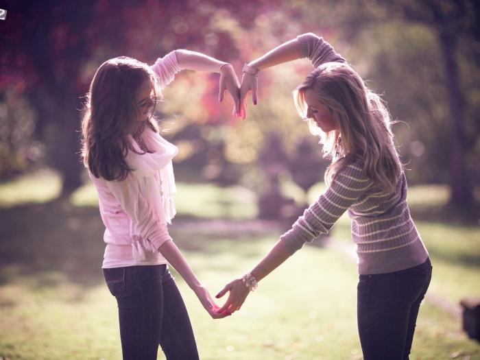 Лучшая подруга - это не соперница