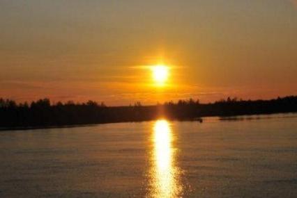 Раньше и где берет начало река волга