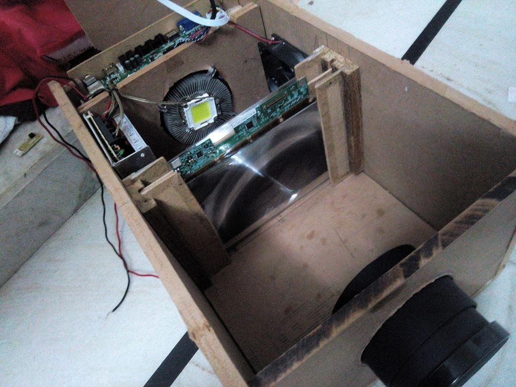 Самодельный проектор из подручных средств в домашних условиях