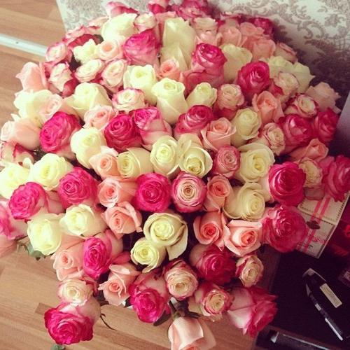 картинка букет огромный роз