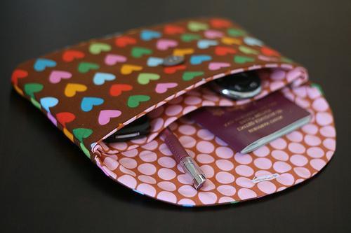 Выкройка клатча конверта