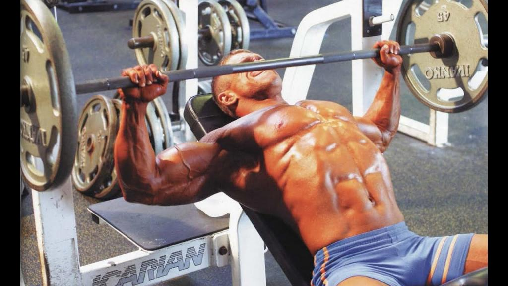 french bench press with barbell