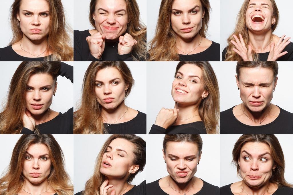 Картинки мимика лица