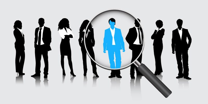 Search for a company leader