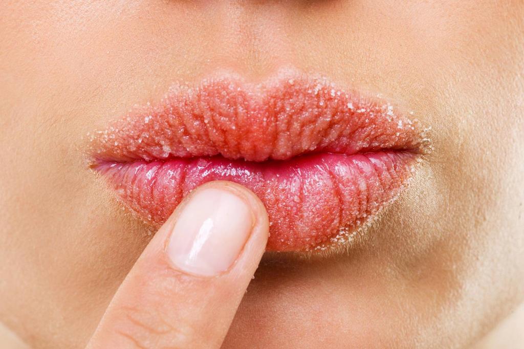 Домашний скраб для губ: рецепты приготовления