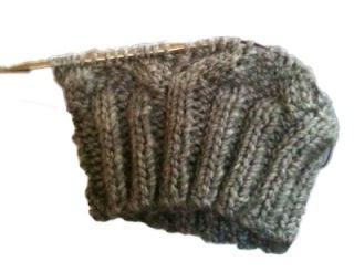 Вязание шапки трубы