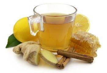 чай для похудения рецепт с имбирем