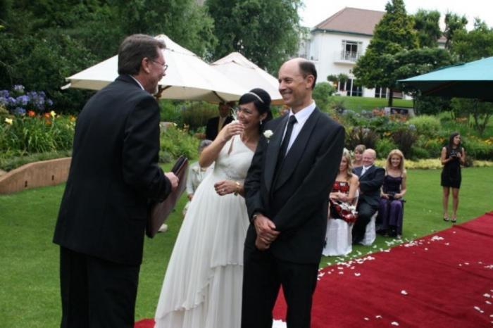 Выездная регистрация: оригинальная свадьба