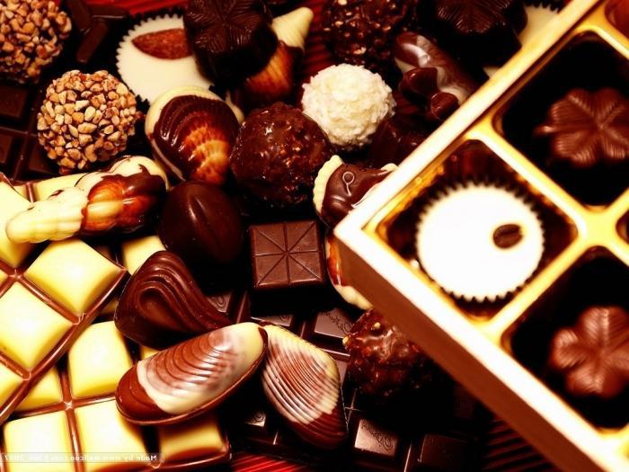Приснилась шоколадная конфета