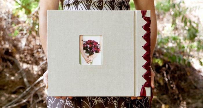 оформить свадебный альбом своими руками