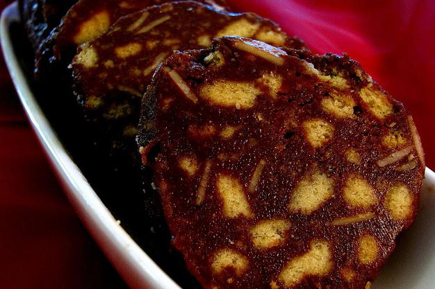 кондитерская колбаса рецепт со сгущенкой