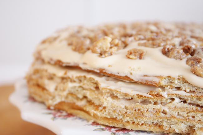 торт рыжик медовый рецепт фото