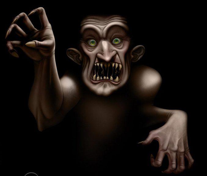 ужасы в темноте