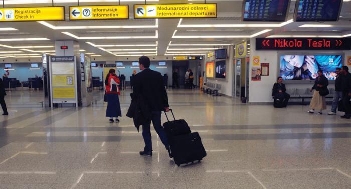 Аэропорт Белграда: схема