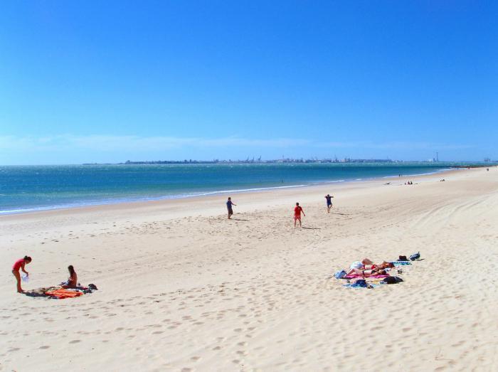 испания пляжи с белым песком