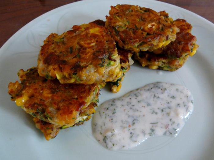оладьи из кабачков и баклажанов рецепт