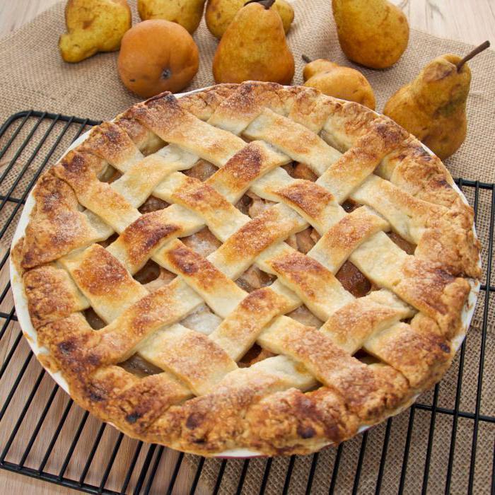 пирог с грушами простой рецепт