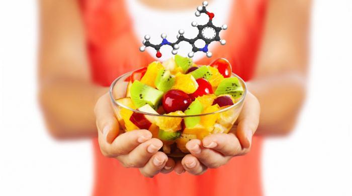 мелатонин в каких продуктах содержится