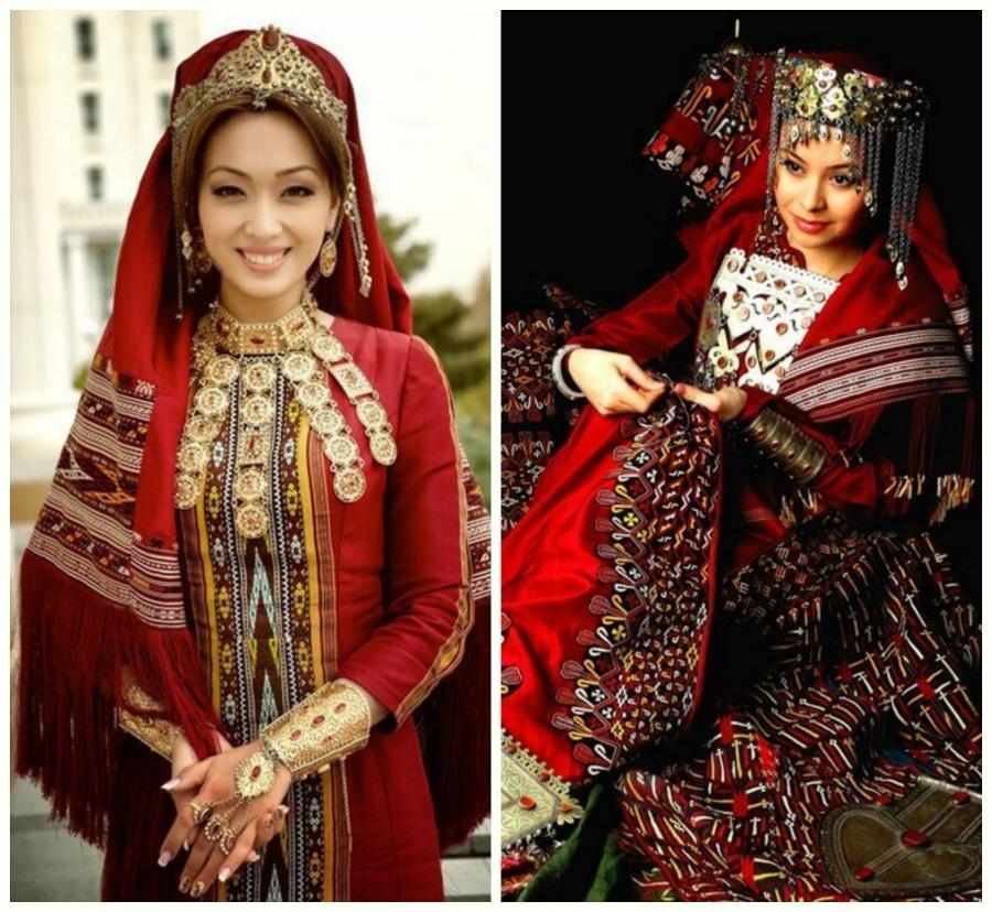 туркменский национальный костюм мужской