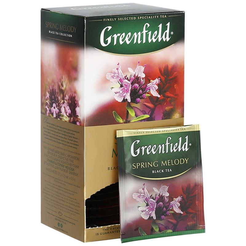 чай гринфилд полезный