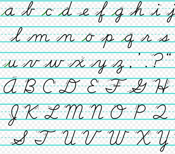 Uppercase English alphabet