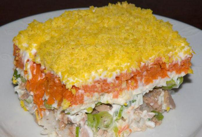 салат печень под шубой рецепт