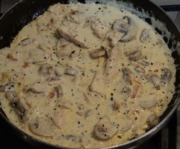 Сердечки куриные со сливками рецепты