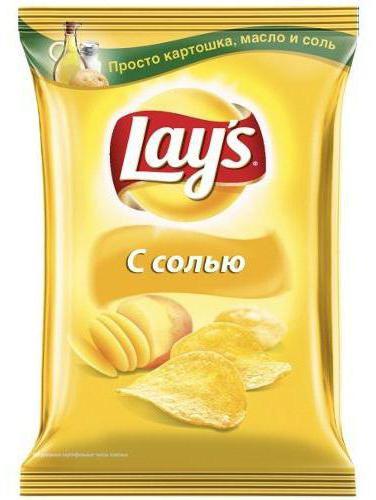 состав чипсов лейс с солью
