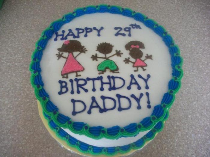 Как сделать торт для папы на день рождения