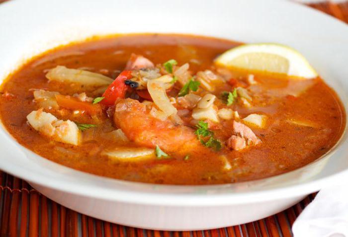томатный рыбный суп рецепт