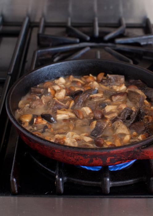 что приготовить из замороженных грибов