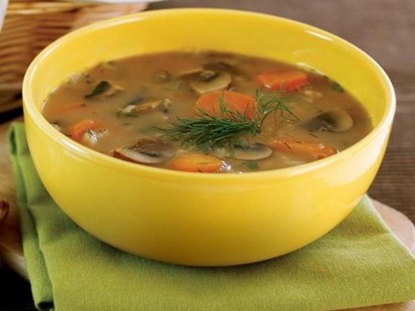 как приготовить грибной суп из замороженных грибов