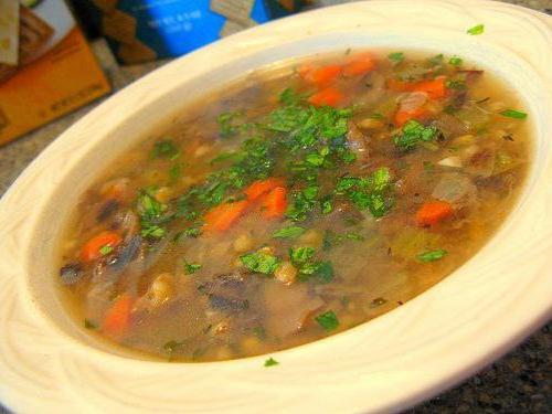 как приготовить суп из замороженных грибов